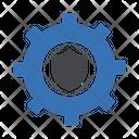 Security Settings Shield Setting Icon
