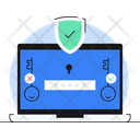 Security Shield Protection Concept Online Security Icon