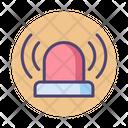 Ialert Security Siren Alert Icon