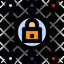 Security System Padlock Locked Icon