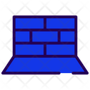 Security Wall Firewall Internet Security Icon