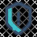 Security Warning Shield Warning Icon