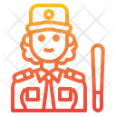 Security Woman Icon