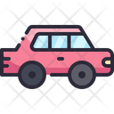 Auto Vehicle Sedan Icon