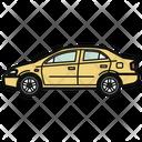 Auto Sedan Car Icon