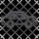 Luxury Car Automobile Sedan Icon