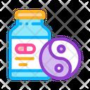 Sedative Pills Icon