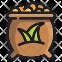 Seeds Ecology Energy Icon