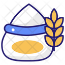 Seed Bag Agricultural Harvest Icon