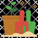 Seed Plantation Grow Icon
