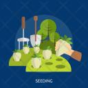 Seeding Agriculture Farm Icon