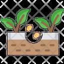 Seedingv Seeding Gardening Icon