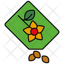 Flower Seeds bag Icon