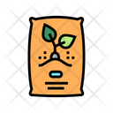 Seeds Bag Color Icon