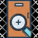 Seek Scrutinize Finding Icon