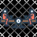 Seesaw Recreation Cheerful Icon