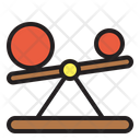 Seesaw Physics Science Icon