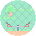 Seesaw Game Icon