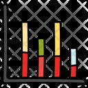 Segmented Bar Graph Icon