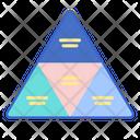 Segmented Pyramid Icon
