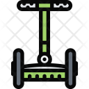 Segway Vehicle Machine Icon