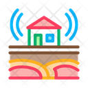 Seismic Wave Residential Icon