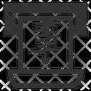Seismogram Seismometer Ekg Result Icon