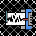 Seismograph Device Color Icon