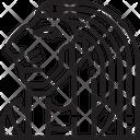 Sekhmet Egyptian God Icon
