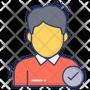 Select Employee Employee Men Icon