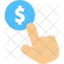 Dollar Select Money Currency Icon