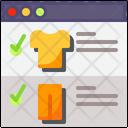 Browser Online Shop Website Icon