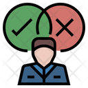 Select Right Decision Icon