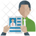 Selected Candidate Recruitment Right Applicant Icon
