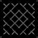 Selection Square Dash Icon