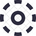Selection Circle Dotted Icon