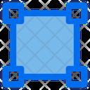 Selection Vector Path Icon