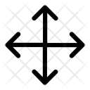 All Sided Arrows Icon