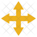 Arrow Selection Cross Icon