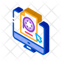 Selection Video Document Icon