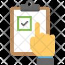 Selection List Checklist Icon