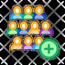 Adding New Employees Icon