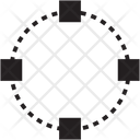 Selection Round Icon