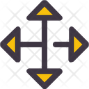 Arrows Expand Left Icon