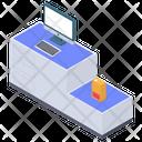 Self Checkout Machine Icon
