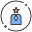 Self Confidence Leader Experience Icon