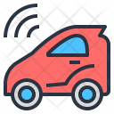 Self-drive car Icon