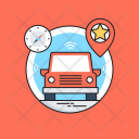 Self Driving Car Icon