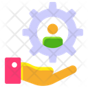 Self Motivation Support Business Support Icon