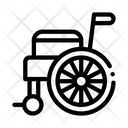 Self Propelled Wheelchair Equipment Icon